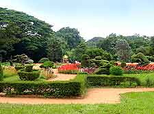 Different view of Lal Bagh Botanical Gardens