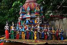 Picture of Gopuram Temple celebration