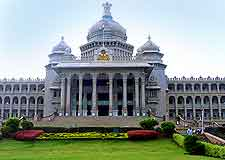 Photo of the Vidhana Soudha building