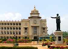 Further Vidhana Soudha building picture