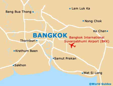 Bangkok Maps and Orientation: Bangkok Province, Thailand
