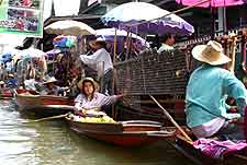 Picture of Floating Market at Samut Songkhram