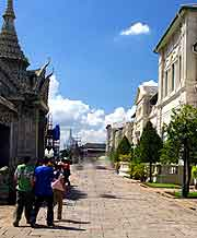 Photo of the Palace Street