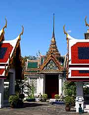 Photo showing part of Bangkok's Royal Palace
