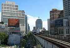 Picture of the skytrain