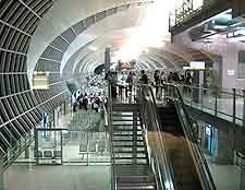 Interior picture of Suvarnabhumi Airport