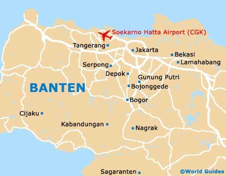 Small Banten Map