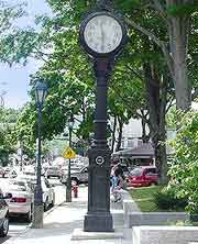 Image of the Village Green Street Clock