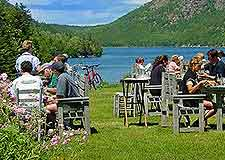 Photo of al fresco diners enjoying summer sunshine