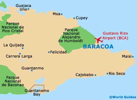 Small Baracoa Map