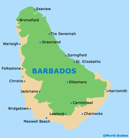 Bridgetown Maps and Orientation Bridgetown Saint Michael Barbados