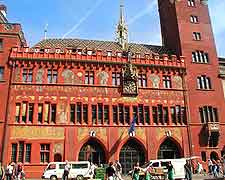 Picture of Basel City Hall on the Marktplatz