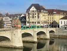 Basel Middle Rhine Bridge (Mittlere Bruecke) picture