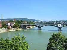 Photo of bridge spanning the River Rhine