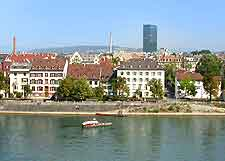 Picture of lodging on the River Rhine