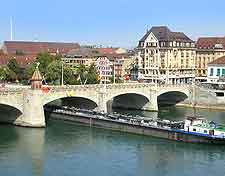 Picture of historic bridge across the River Rhine