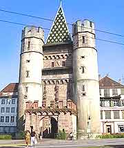 Basel Gate of Spalen (Spalentor) picture