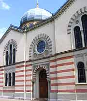 View of the Synagogue architecture