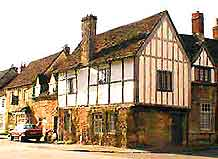 Snapshot of architecture at Lacock Village