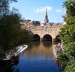 Photograph showing the River Avon