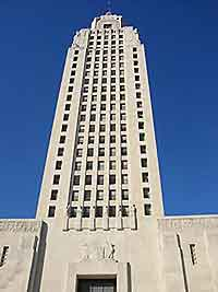Image of the Louisiana State Capitol building