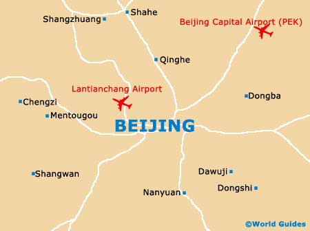 Small Beijing Map