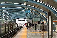 Image of the Longze Subway Station