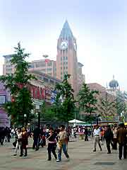 Photo of central shopping district