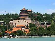Waterfront picture of the Summer Palace