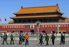 View across Tiananmen Square