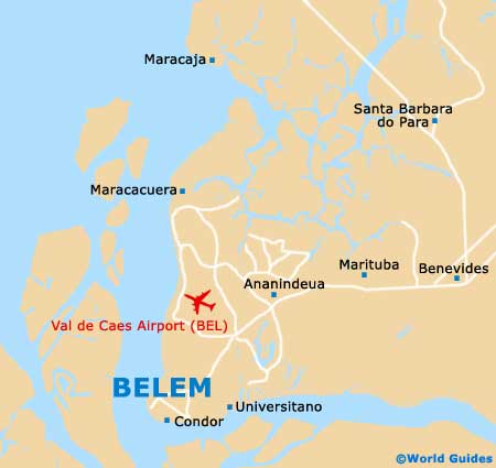 Belem Tourist Attractions and Sightseeing Belem Para Brazil