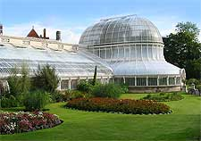 Photo showing the Palm House at the Botanic Gardens