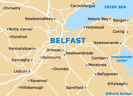 Small Belfast Map