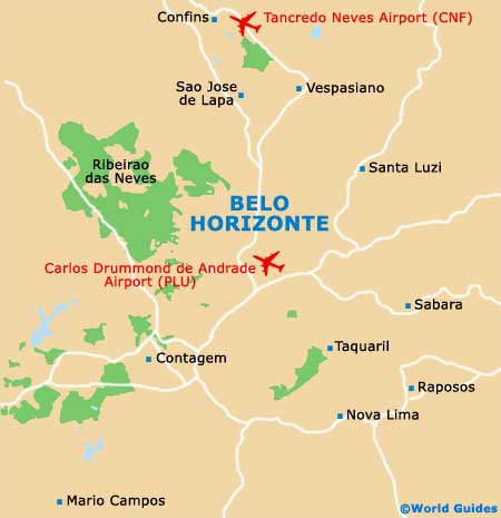 Small Belo Horizonte Map