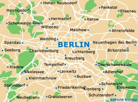 Maps of Berlin Free University of Berlin Freie Universitat Berlin