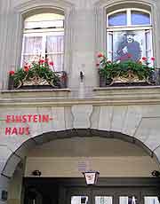 Close-up picture of the Einstein-Haus (Einsteinhaus)