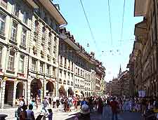 Further photo of the central shopping district