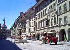 Picture of the central shopping district