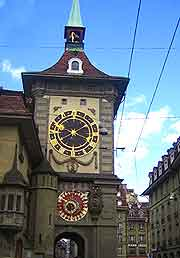 Image of the Zytglogge Clock Tower