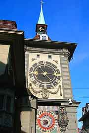 Image of the famous Zytglogge Clock Tower