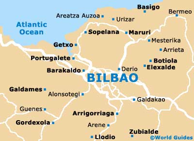 Small Bilbao Map