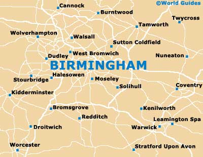 Birmingham Attractions Nearby Birmingham West Midlands England
