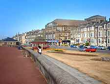 View of Morecambe town