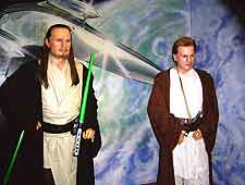 Picture of Star Wars characters at Louis Tussaud's
