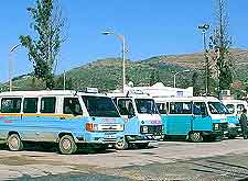 Photo of local Turkish buses