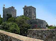 View of Bodrum Castle