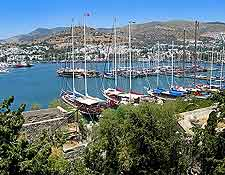 Bodrum marina and waterfront image