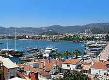 Aerial image of Marmaris (Turkey)