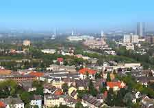 Aerial picture of Bonn