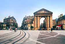 Bordeaux Airport (BOD) Directions: Picture of the Place de la Victoire